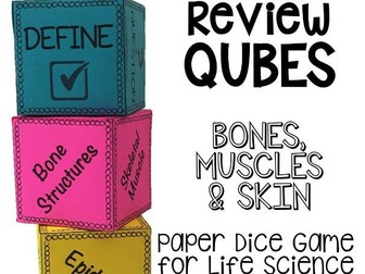 Bones, Muscles and Skin Review Qubes for Life Science