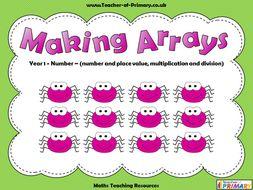 Making Arrays - Year 1