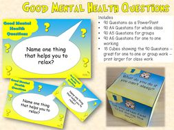 Good Mental Health Questions
