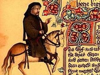 Chaucer Merchant's Tale Context Revision Resource
