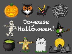 Joyeuse Halloween: KS3 French Halloween Lesson/ Activity Bundle.