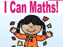 PreK Math: I CAN write and count numbers to 5 in Fall (USA Edition)
