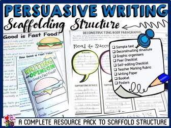 PERSUASIVE WRITING: SCAFFOLDING STRUTURE