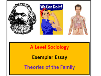 A Level Sociology - Exemplar Essay - Theories of the Family