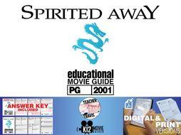 Spirited Away Movie Guide | Questions | Worksheet (PG - 2001)