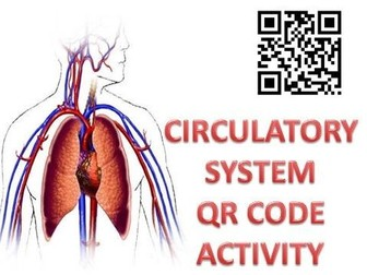 Body Systems: Circulatory System QR code activity