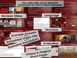 AQA 8700/1 English Language - Paper 1 Full Set - Game of Thrones 'Unsullied'