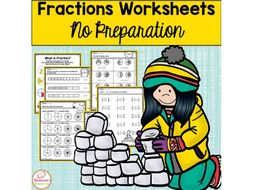 Fractions Worksheets:Equivalent Fractions,Fractions on the Number line,Comparing Fractions