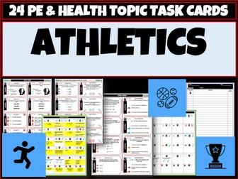 Athletics 24 PE Task cards