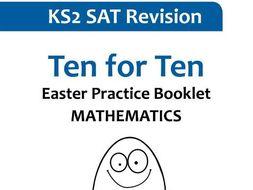 Ten for Ten KS2 Mathematics - Easter Practice Booklet