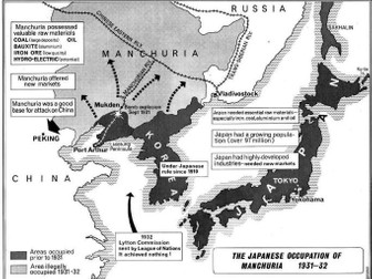 Card Sort: Why did Japan invade Manchuria?