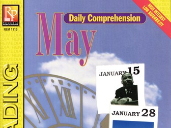 May: Daily Comprehension