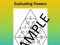 Evaluating Powers – Math puzzle