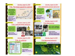 AQA new specification-B17 Biodiversity and ecosystems-Combined/Additional science bundle