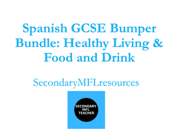 Spanish Healthy Living & Food and Drink Bumper Bundle