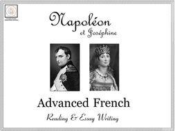 Advanced French Reading & Essay Writing: Napoléon et Joséphine