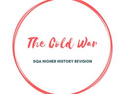 SQA Higher History Cold War Revision Booklet Task
