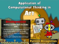 Application of Computational Thinking in Art