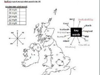 full SOW gcse geography statistics data ocr aqa edexcel 1