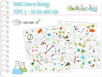 SNAB Biology Topic 5: On the Wild Side - Card Game