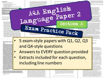 AQA English Language Paper 2 Section A