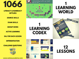 1066 LEARNING WORLD CODEX - Norman Invasion (with Online Learning World)