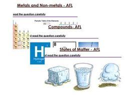 KS3 Chemistry six mark questions
