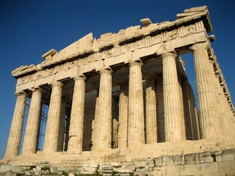 Ancient Greece / Greeks KS2 Acropolis / Temples / Architecture / Letters / DT