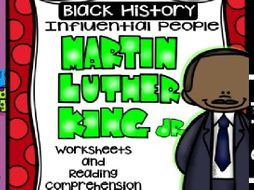 Black History - Influential People - Martin Luther King Jr. (Bilingual Set)