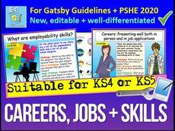 Year 11 or KS5 Careers - Gatsby Benchmarks Unit