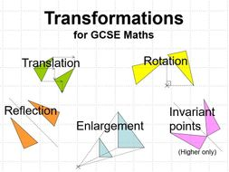 GCSE Maths: Transformations - Powerpoint Lesson
