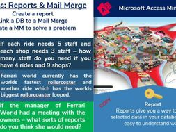 5. Access Database: Reporting & Mailmerge (5/6)