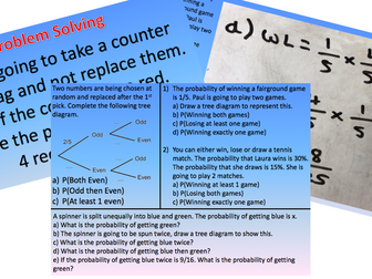 Probability Tree Diagram Lesson