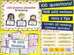 Y6 Reading: KS2 Last minute SATS Revision