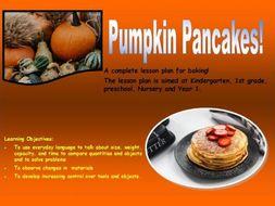 Halloween: EYFS Pumpkin Pancakes