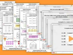 Year 3 Related Calculations Spring Block 1 Step 2 Maths Lesson Pack