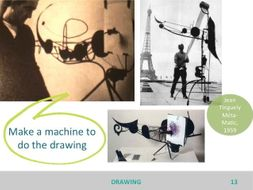 Drawing: how have artists used drawing in different ways? Discussion prompt and stimulus...