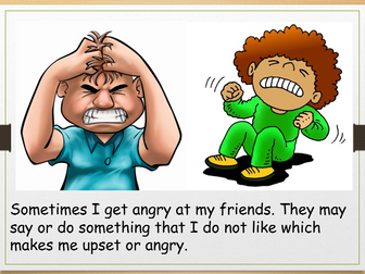 Social Story-Dealing With Anger