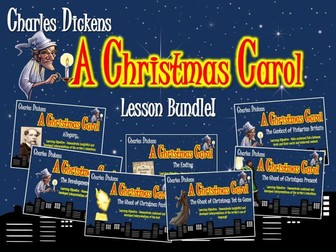 A Christmas Carol Lesson Bundle!