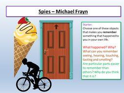AQA English Language Paper 1 - Spies