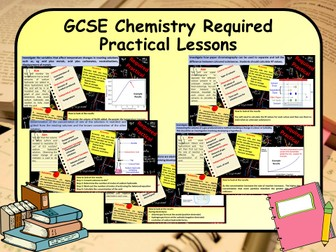 New 1-9 GCSE Science (Chemistry) Required Practical Lessons