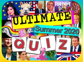 Summer End of Year Quiz