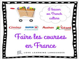 Faire les courses en France - A lesson on French culture