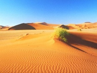 Revision Notes on Hot Desert Systems and Landscapes (A Level AQA Geography)