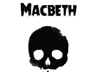 Macbeth Revision Guide for students to complete