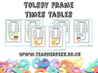 Tolsby Frame Times Table Tips