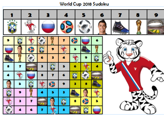 World Cup 2018 - Maths Challenges