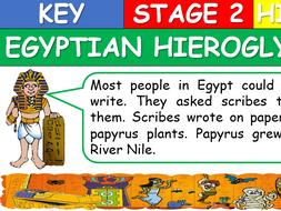 KS2 Egyptian Hieroglyphs