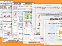 Year 5 Round Within 100,000 Autumn Block 1 Step 6 Maths Lesson Pack