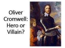 Oliver cromwell hero or villain essay